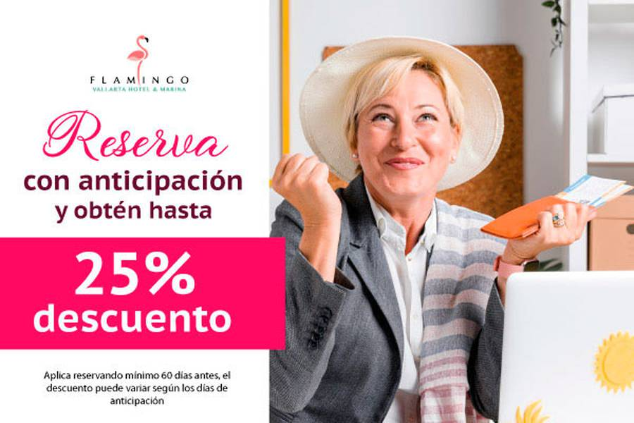 Early booking 30 days flamingo vallarta hotel & marina puerto vallarta